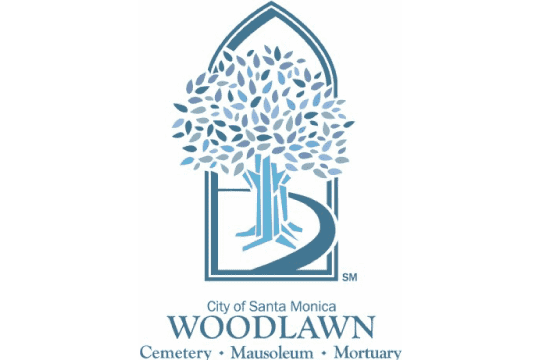 logo for Woodlawn Cemetery